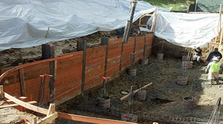residential swimming pool excavation