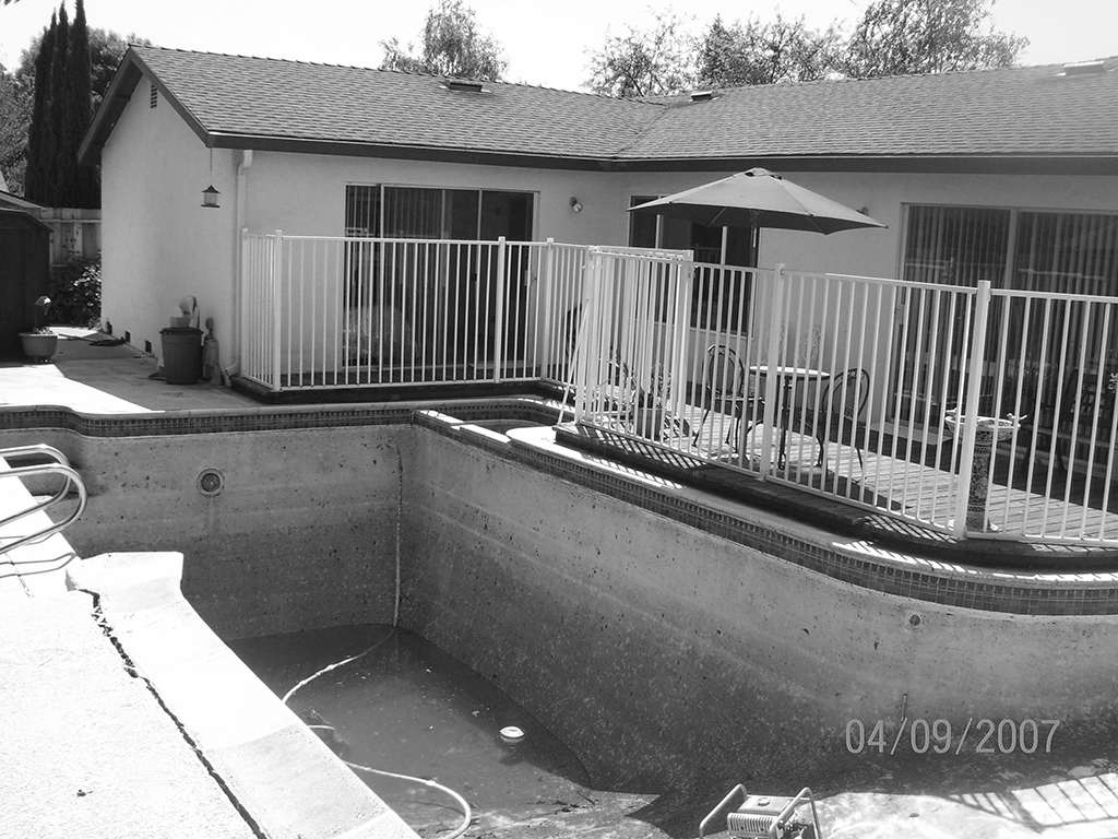 bay area pool removal process