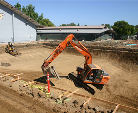 pool excavation bay area